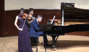Savitri Grier violin, Richard Uttley piano