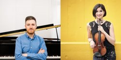Savitri Grier, violin & Richard Uttley, piano